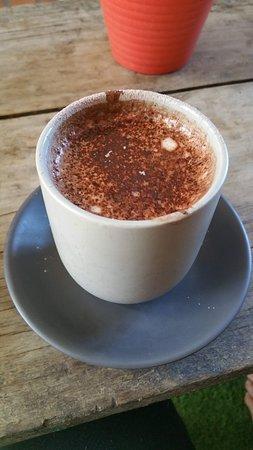 Jimboomba, Australia: The warm chocolate ('twas delicious, however)