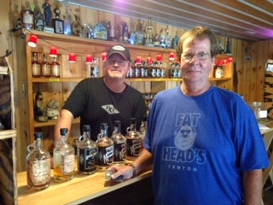 Ripley, WV: The tasting room with the master distiller.