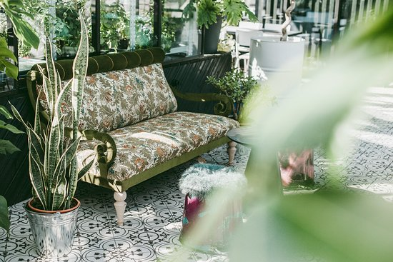 Herbārijs: Atpūties uz dīvāniņa ar skatu uz Rīgas jumtiem.