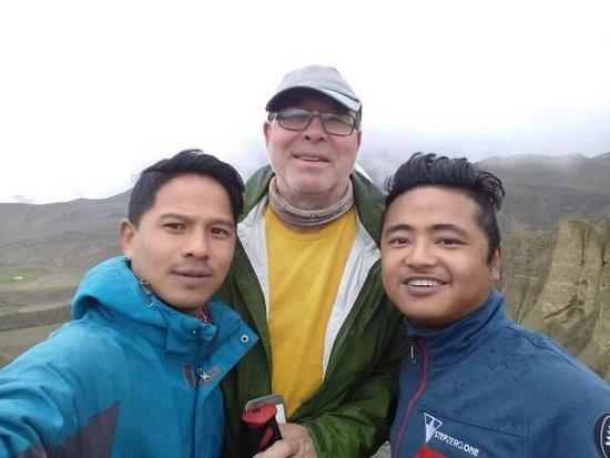 Friends Adventure Team: Dhana, Steve and Lalbir... The Three Amigos