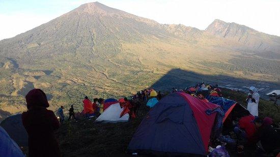 Sembalun Lawang, Indonesia: camp