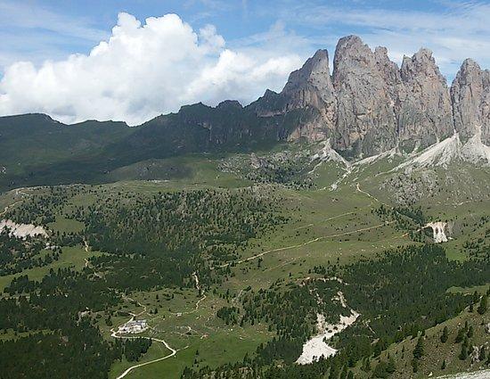 Val Gardena: panorama