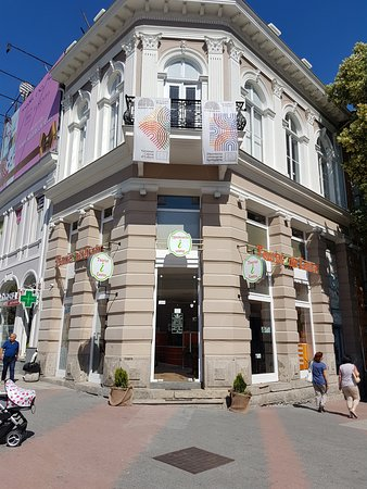"""Plovdiv, Bulgária: Our office is located in Tourist Information Center """"Roman Stadium"""""""