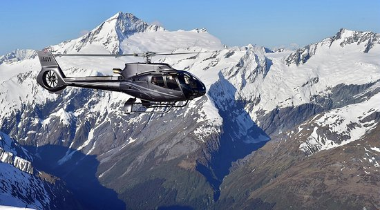 West Glacier, MT: The new Airbus H130 air tour flagship.
