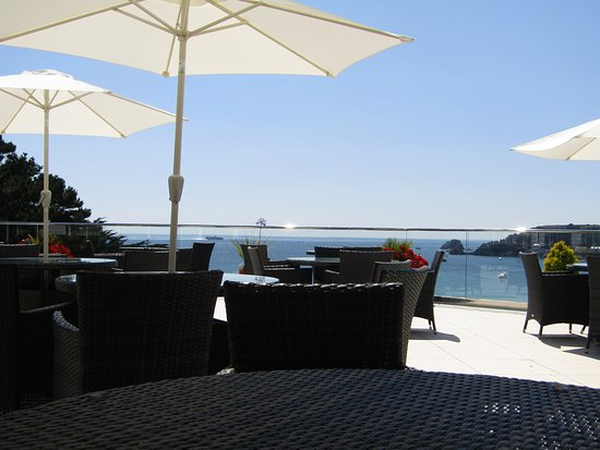 Biarritz Hotel: View from terrace.