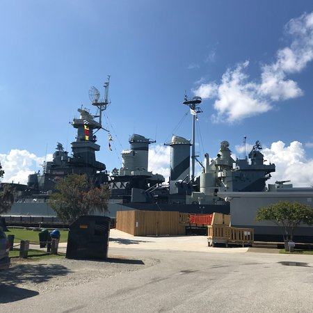 Battleship North Carolina: Awesome!