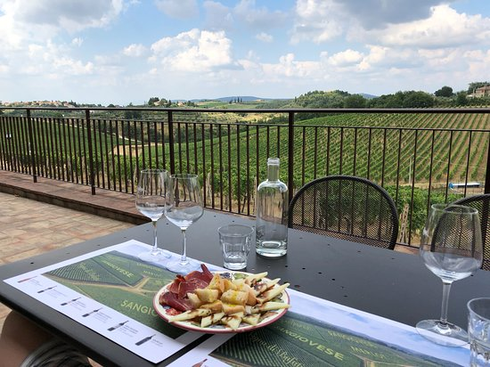 Tuscany Tours by Golden Travel: The view at Casa Emma where I proposed
