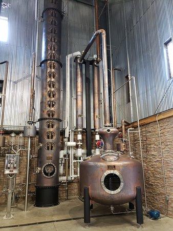 Wilderness Trail Distillery: The still