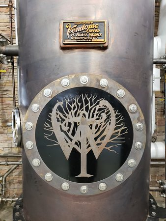 Wilderness Trail Distillery: Glam shot of the still...