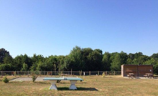 Longueville, Γαλλία: Ping pong, boulodrome...