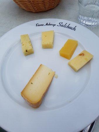 Ferme Auberge du Salzbach: Le fromage