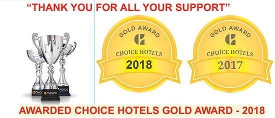 Rodeway Inn : Gold Award Winner - 2017 & 2018