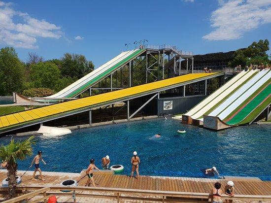 DROP IN Water Jump Parc