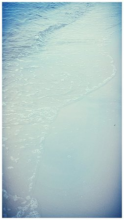 Biloxi Beach: This is as far in as this girl goes!