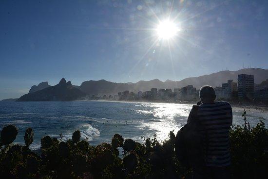 Praia do Arpoador: Entardecer no Arpoador