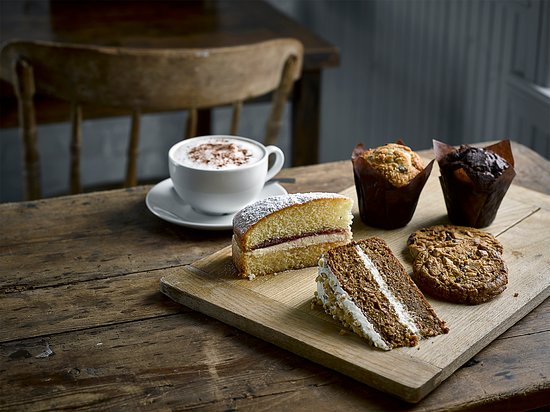Totton, UK: Coffee and Cake deal - All day every day