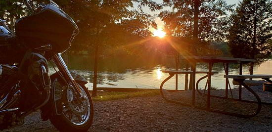Lenoir City, TN: Yarberry Campground - Site 85 - Sunset View