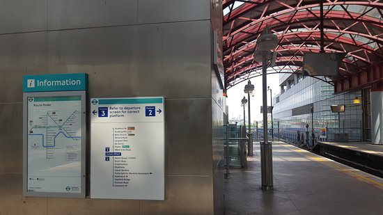 London Light Rail Map.Map Picture Of Docklands Light Railway London Tripadvisor