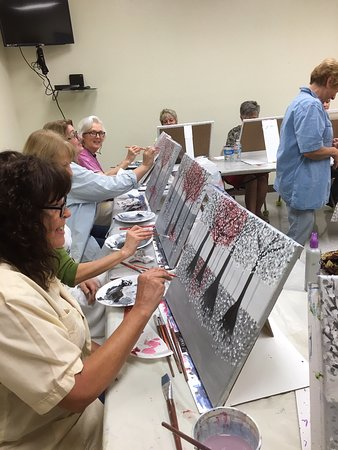 Trish Henkel Art- Paint and Take Workshop