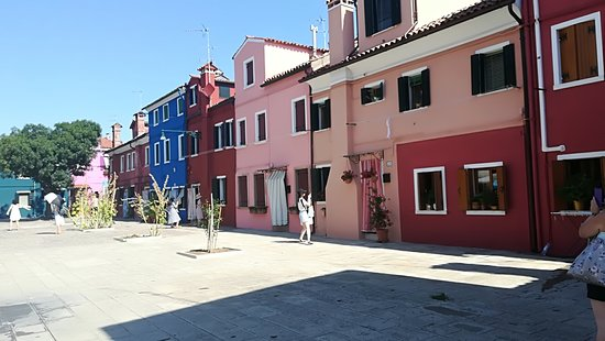 Isola di Burano: pretty houses