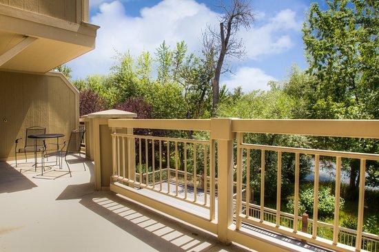 Hilton Garden Inn Boise/Eagle: Corporate Suite Balcony Good Looking