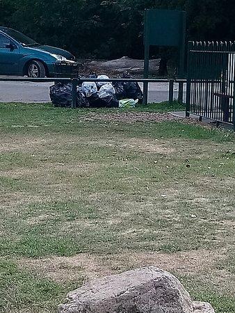 Langold, UK: Rubbish