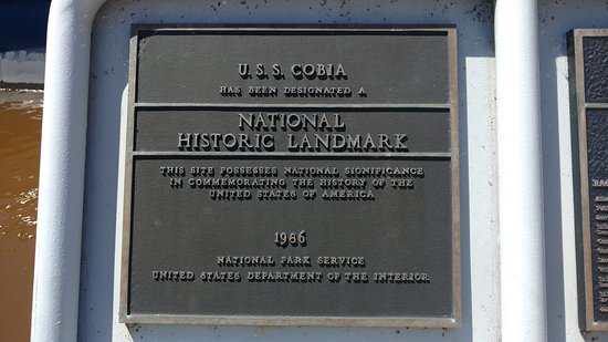 Wisconsin Maritime Museum: close up of plaque