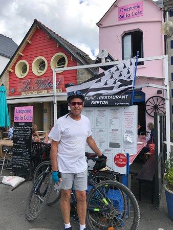 Ile-Tudy, França: Bicycling and Crepes