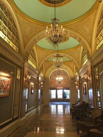 hall to lobby