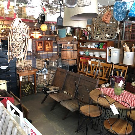 Terre Haute, IN: These are some of the cool finds at the antique/vintage mall.