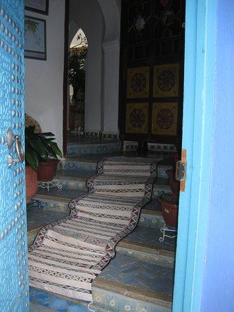 Entrance to Dar Meziana, Chefchaouen, Morocco
