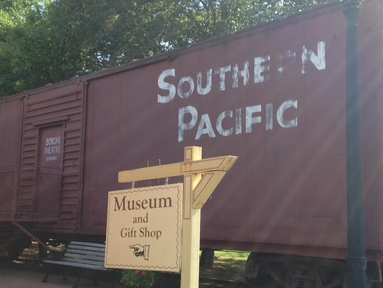 Brownsville, Орегон: Southern Pacific Car