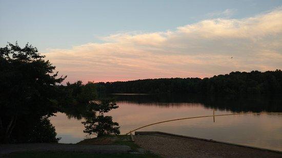 Wildersville, TN: Gorgeous sunset