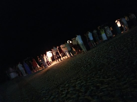 Wedding Reception Details Releasing Lanterns At The Beach