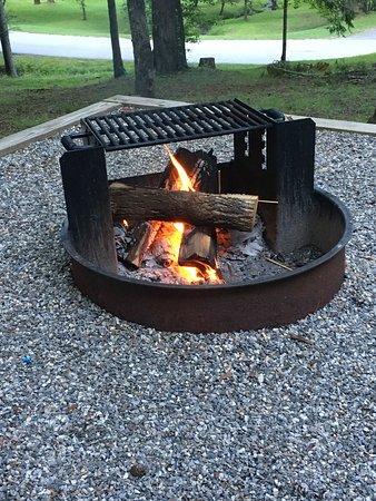 Vogel State Park: Firepit