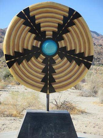 Palm Desert, كاليفورنيا: Desert art