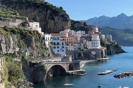 Excursão privada à costa de Amalfi...