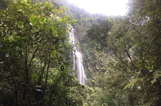 ボゴタのLa Chorrera Waterfall