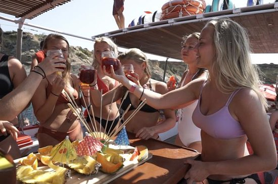3 ore in barca tutto incluso Ibiza
