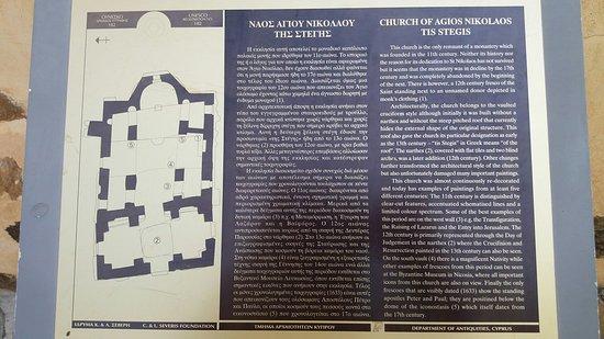 Agios Nikolaos tis Stegis Church張圖片