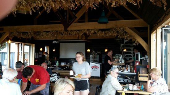 Newenden, UK: Lime Wharf Cafe