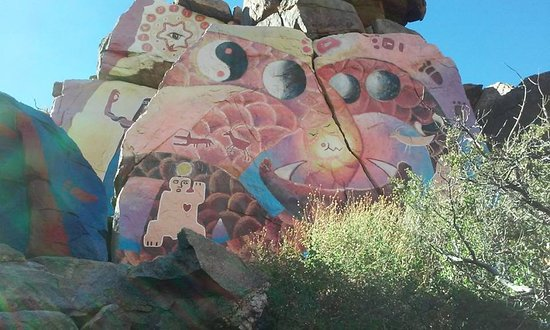 Chloride, AZ: One of the many murals