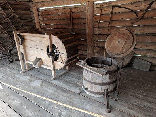 Taltsy, Rússia: a toilet