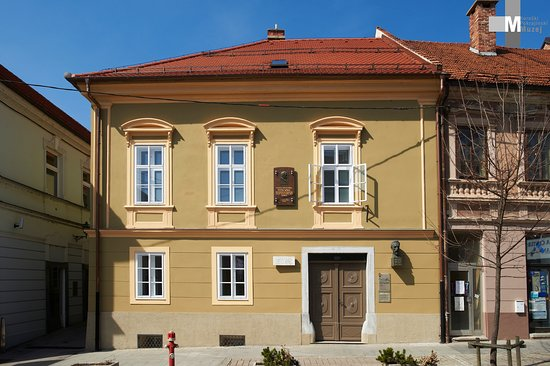 Slovenj Gradec, Eslovênia: In this building was born and rased famous composer Hugo Wolf.