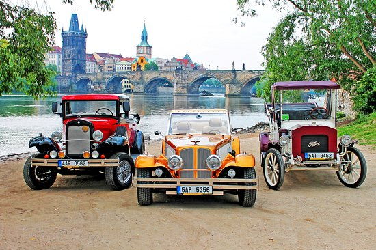 Prague Old Car