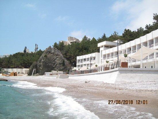 Foros: Пляж и климатопавильон