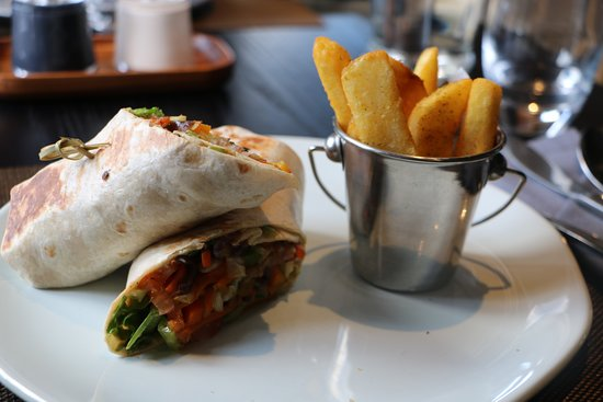 Century City, South Africa: Vegetable Wrap