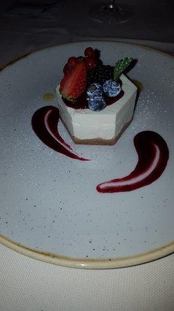 Accento Restaurant: Cheesecake ai frutti di bosco