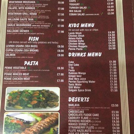 Shirley, UK: Istanbul Restaurant