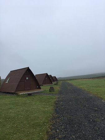 Shulista Croft Wigwams : view from our doorstep